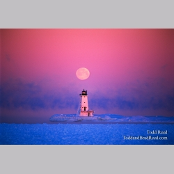 Moon Over Ludington