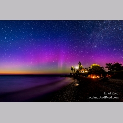 Aurora at Point Betsie