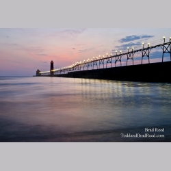 Serene Night in Grand Haven