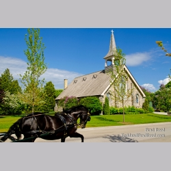 Mackinac\'s Little Stone Church