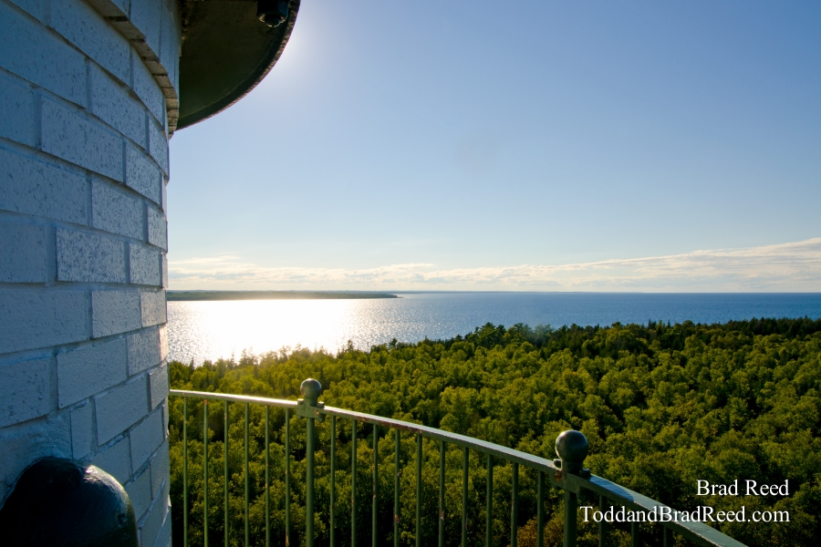 The View from New Presque Isle Lighthouse