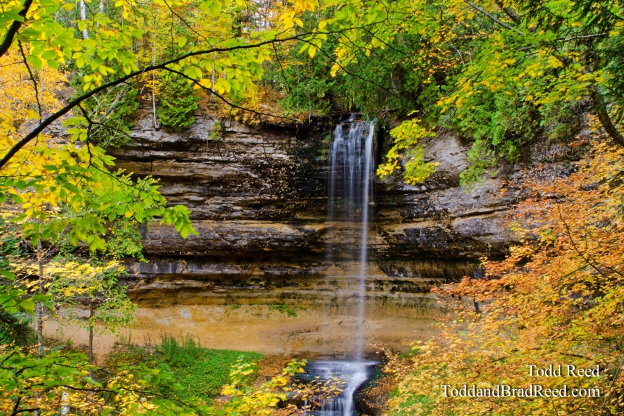 Autumn at Munising Falls