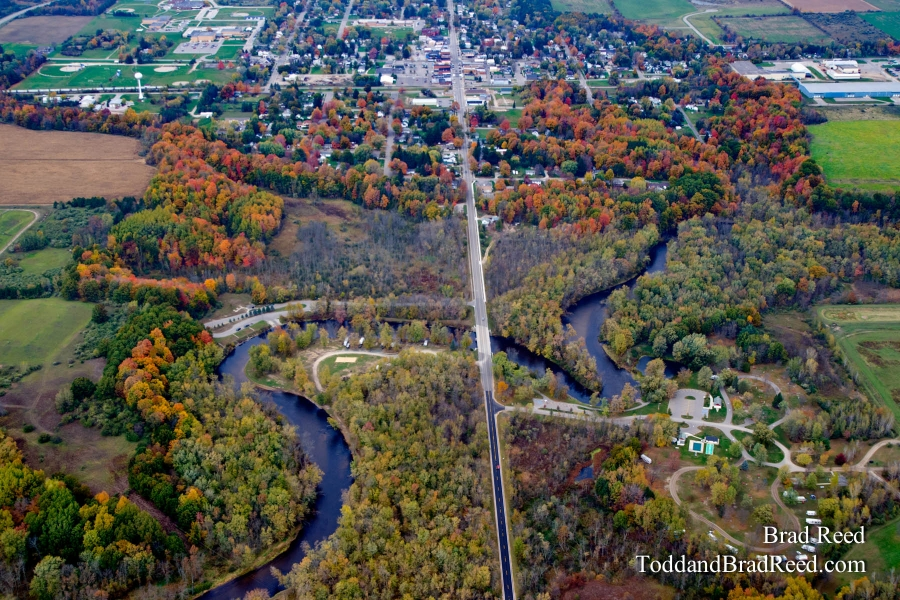 Scottville from Above