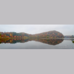 Reflections of Mount Epworth - Panoramic