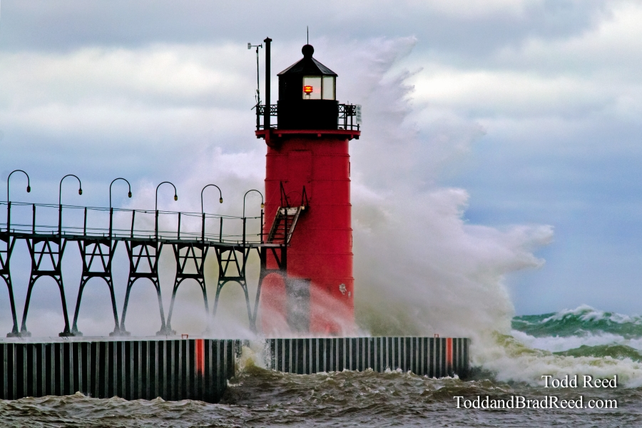 Superstorm Slams South Haven
