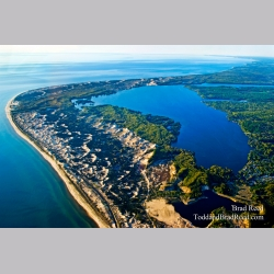 Birdseye View of Hamlin Lake