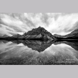 Drama at Bow Lake