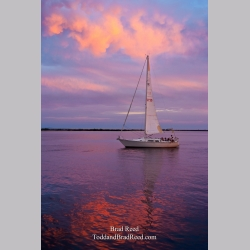 Sailboat at Sunset (2963)