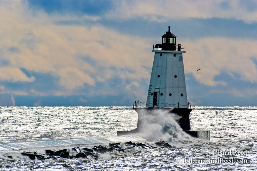 Ludington Light Redone (3658)
