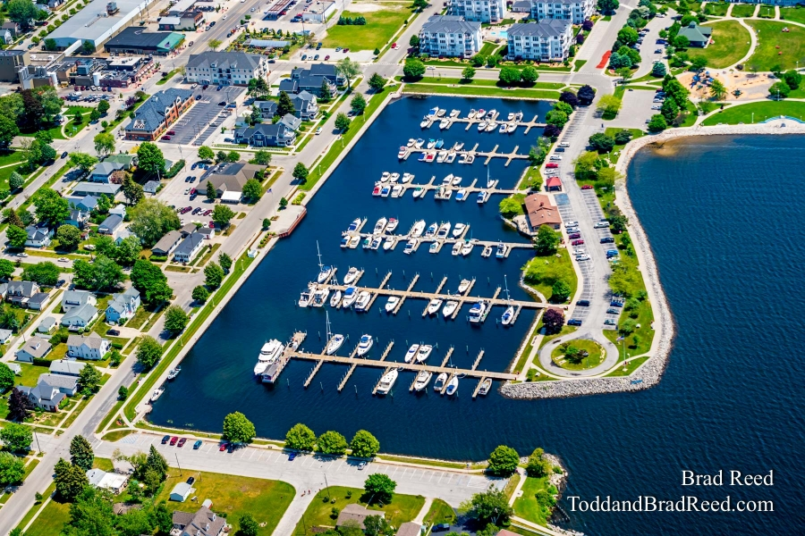 Aerial Photos of Ludington (3795)