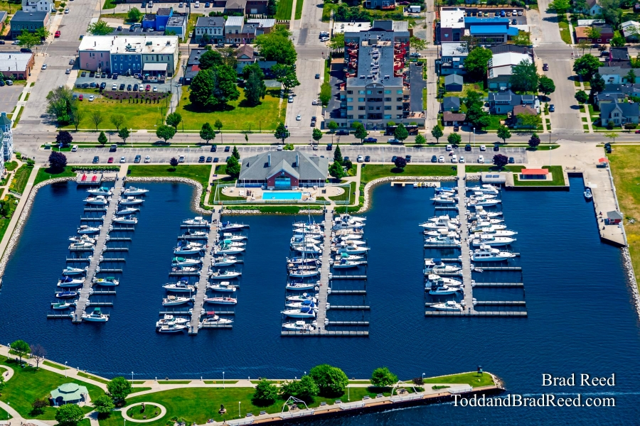 Aerial Photos of Ludington (3796)