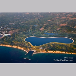 Aerial Photos Ludington Pump Storage Plant (0781)