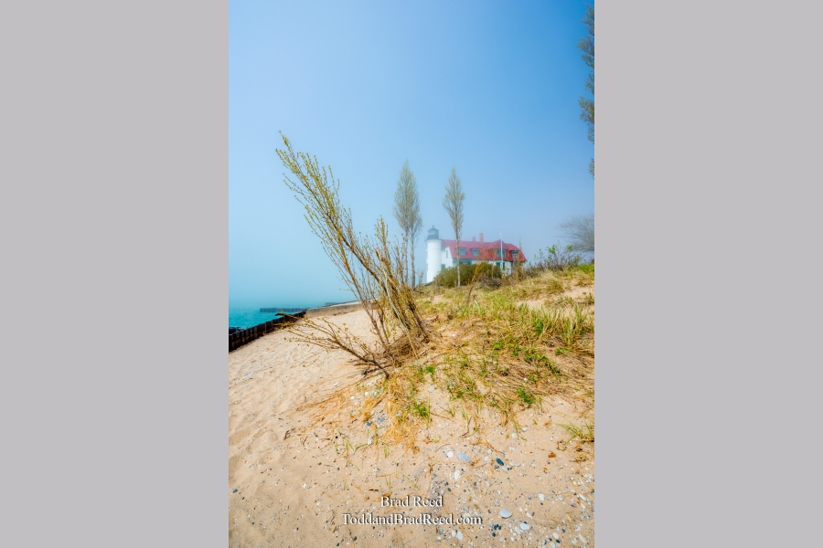 Foggy Day at Point Betsie