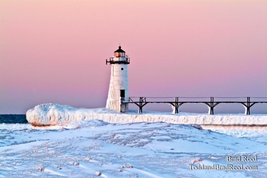 Manistee Light in the Winter (015)