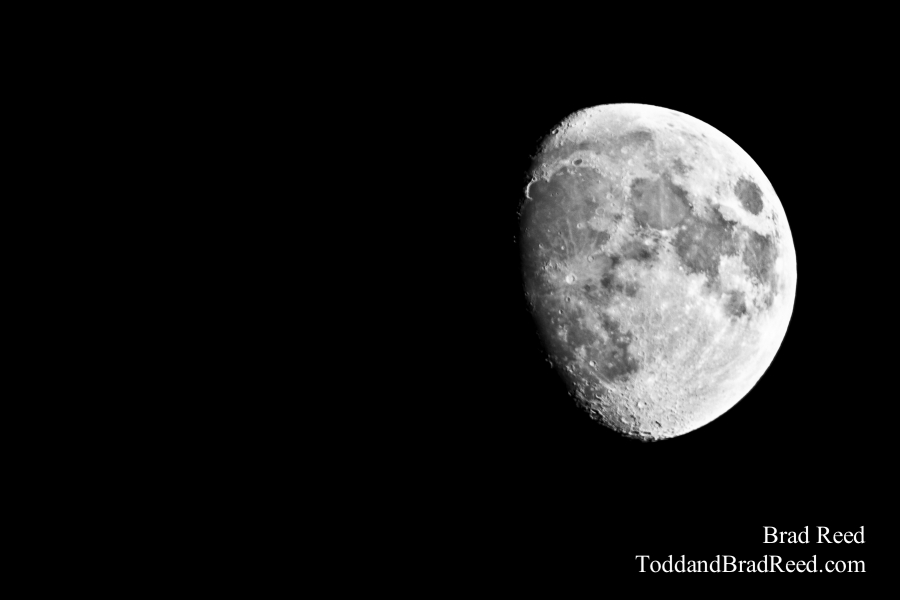 Marvelous Moon - Black and White