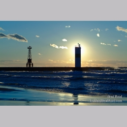 Pentwater Lighthouses (4470)