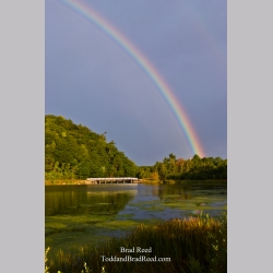 Rainbow Over the Dummy Bridge