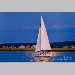 Sailboat and Moon (5851)