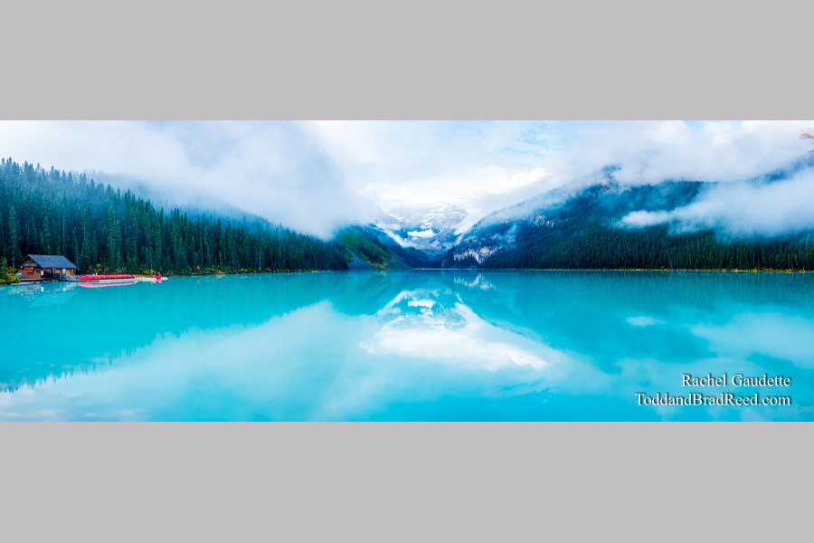 Lake Louise Morning - Panoramic