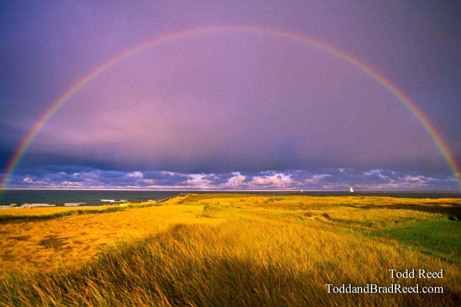 Todd Reed Rainbow Over Ludington