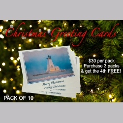10 pack - Christmas Greeting Card