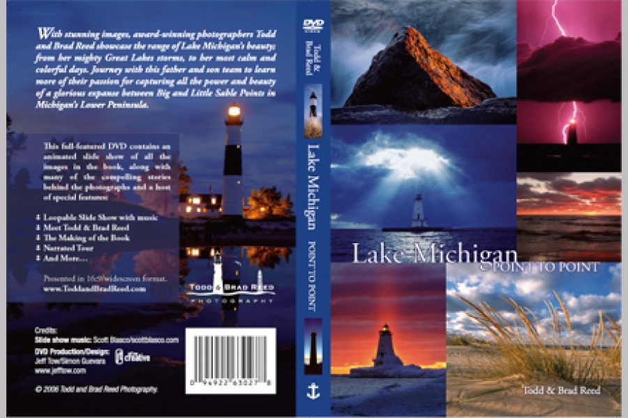 Lake Michigan Point to Point DVD