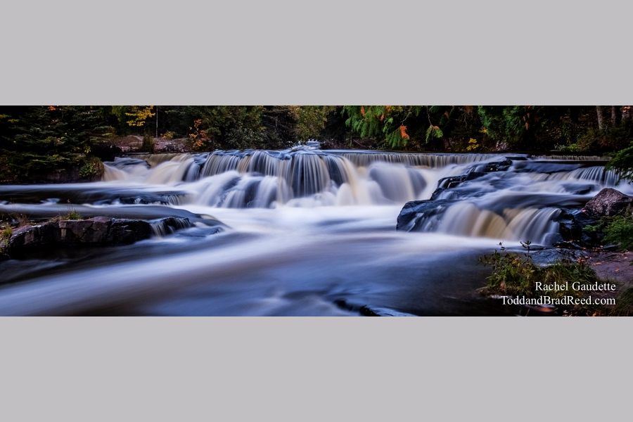 Breathtaking Bond Falls - Panoramic